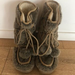 Juicy Couture Fur Boots